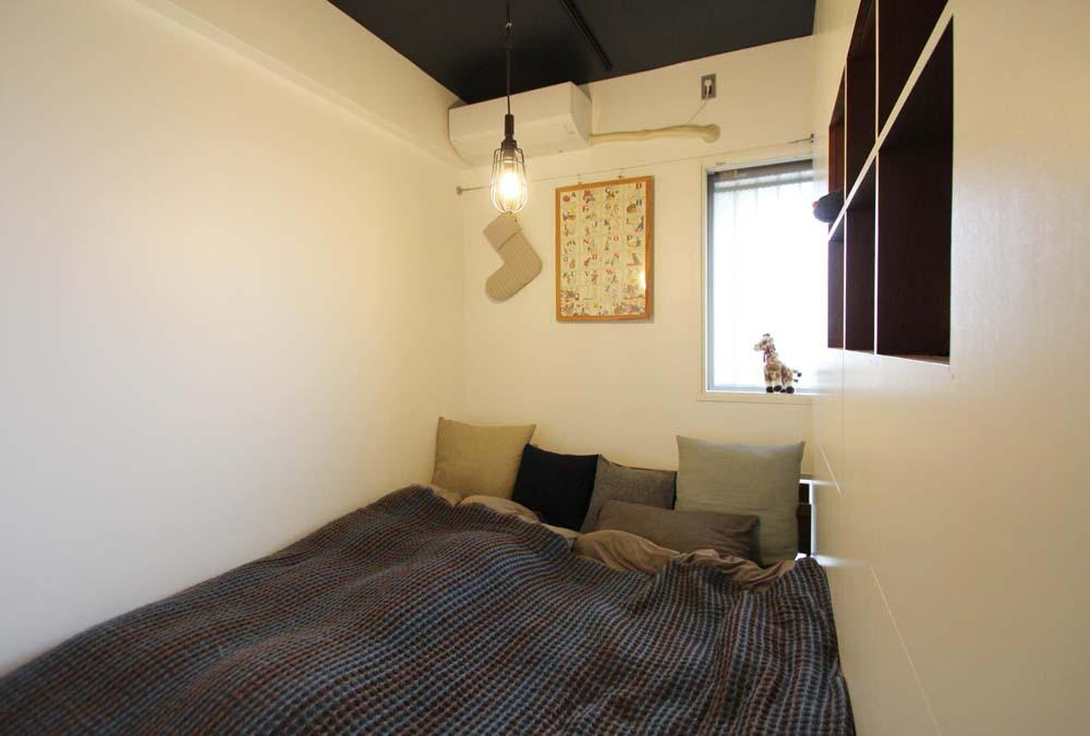 dot.の部屋 シンプルな寝室