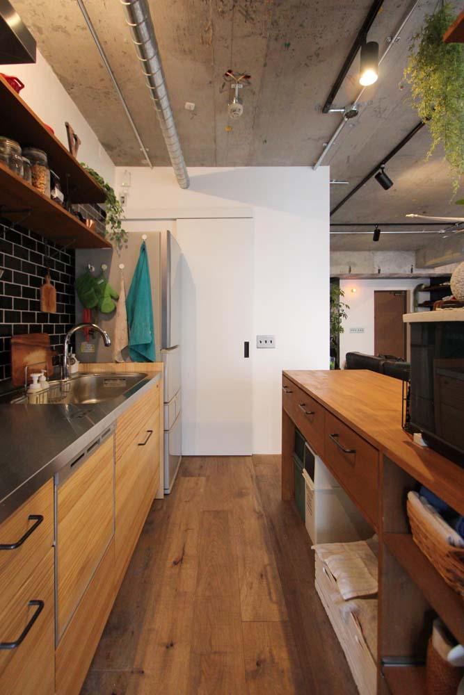 dot.の部屋 機能的なキッチン