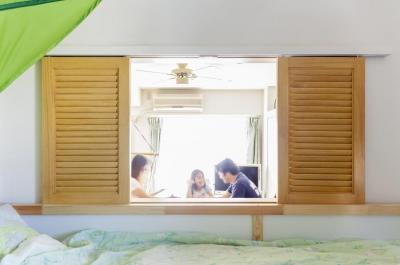 キッズルーム (狭くて贅沢な寝室と、ハワイのコテージ)
