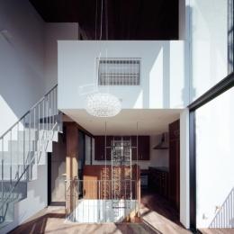 赤坂の家Ⅱ (赤坂の家Ⅱ リビングダイニング)