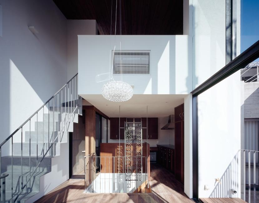 赤坂の家Ⅱの写真 赤坂の家Ⅱ リビングダイニング
