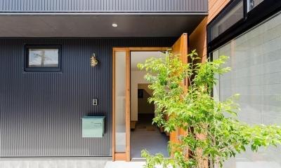 『矢野の家』  2階リビングの家