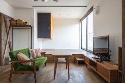 『矢野の家』  2階リビングの家 (LDK)