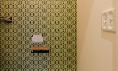 『矢野の家』  2階リビングの家 (トイレ)
