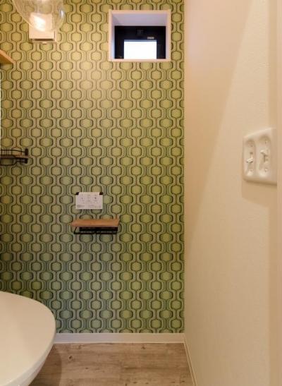 トイレ (『矢野の家』  2階リビングの家)