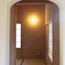 河口湖の舎Ⅱの写真 アーチ型の和室入り口
