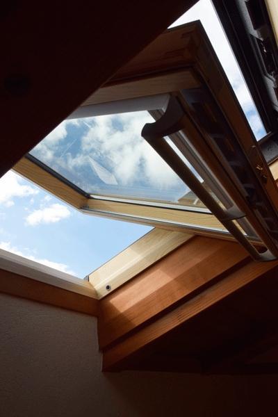 河口湖の舎Ⅱの部屋 天窓