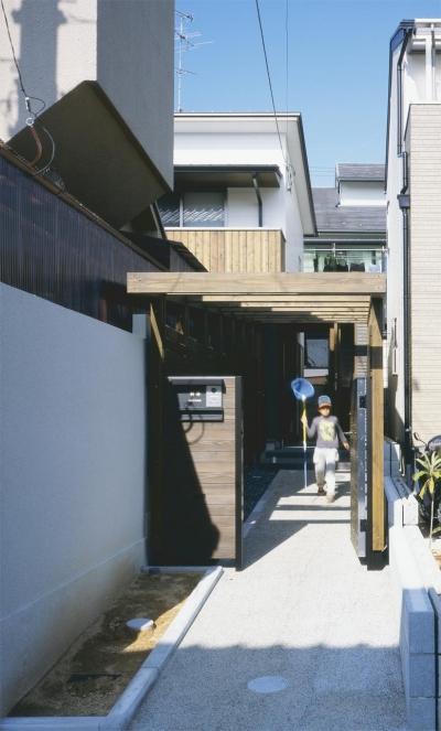 松ヶ崎の家2 (アプローチ)