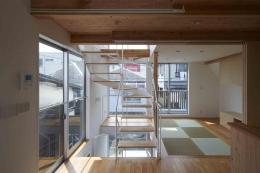 上水の家 (落ち着きのある畳リビング)