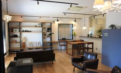 心からくつろげる、大人のカフェ風住宅 「Pino-836」