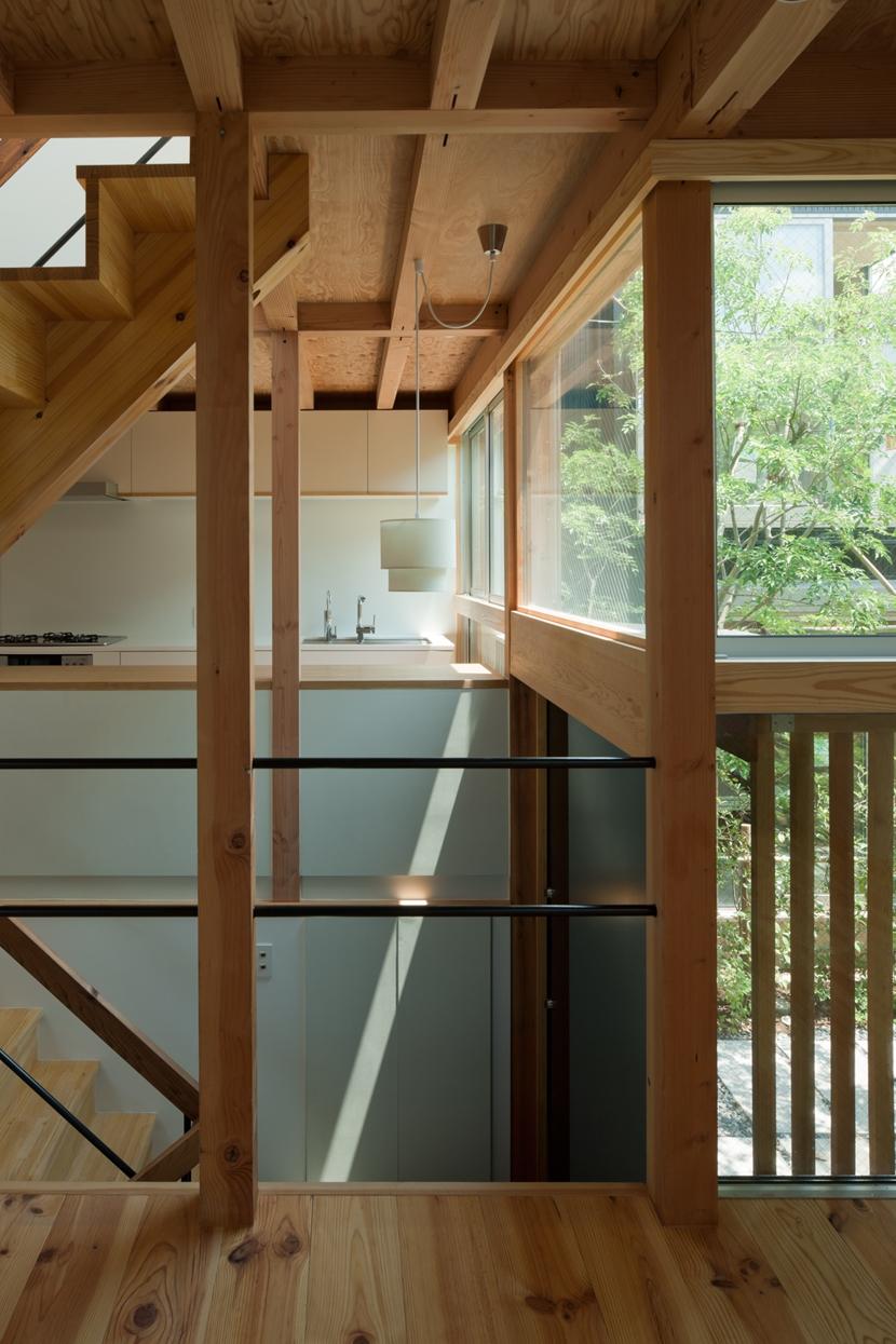 棲林居の部屋 棲林居 階段