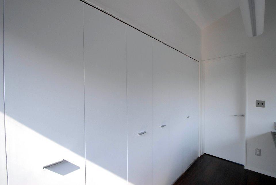 T様邸 藤沢の部屋 大容量のクローゼット-CLOSE