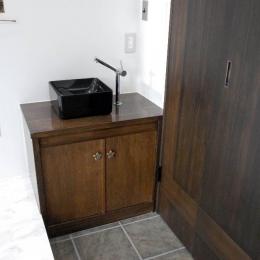 手洗いスペースある玄関