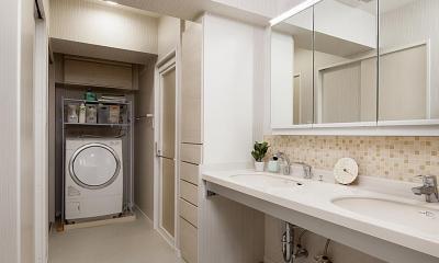 洗面所|見えない所で高性能を追求。「住み心地はこんなに変わるなんて!」
