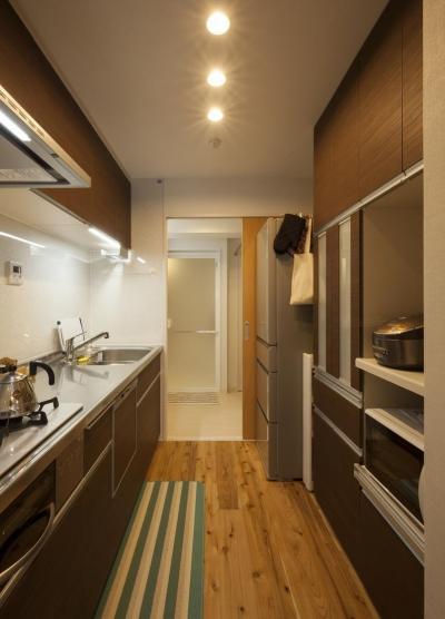 50代からの暮らしを変えたリノベーション (キッチン)
