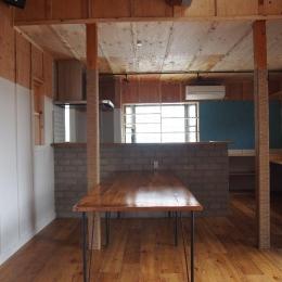 Y様邸 本厚木 / 戸建リノベーション (開放的なダイニングキッチン)