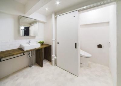 洗面室 (お客様が完成させる家)