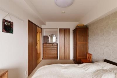 寝室 (横浜市A様邸 ~緑を添えて~)
