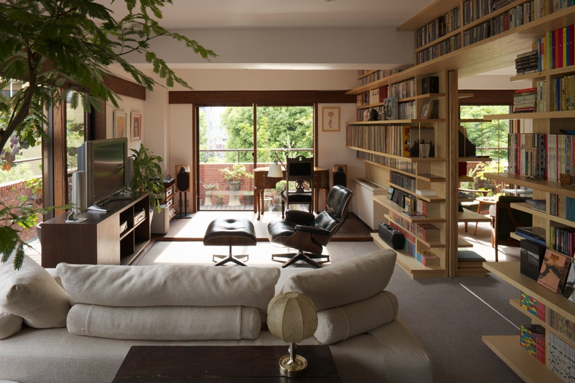 建築家:浅利幸男「赤坂の家」