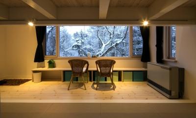 『軽井沢千ヶ滝の家』北欧スタイルの住まい