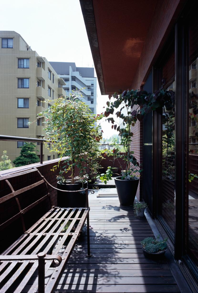 赤坂の家の部屋 赤坂の家 バルコニー