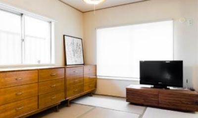 和室|家具をなるべく置かずシンプルに、 自分たちらしい居心地のいい空間にしたい。