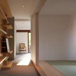赤坂の家 廊下