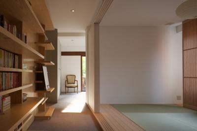 赤坂の家 廊下 (赤坂の家)