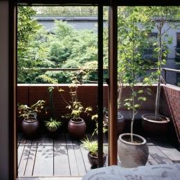 赤坂の家 バルコニー