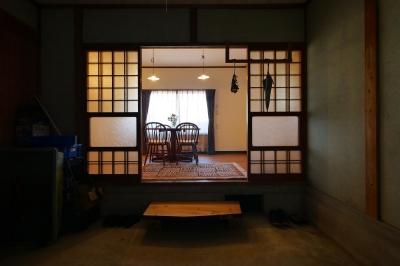 都会から田舎へ、ゆったりと暮らすカフェハウス (はなれ)
