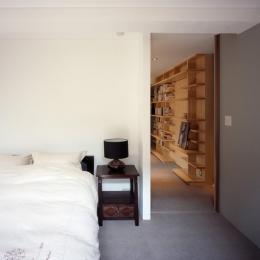赤坂の家 寝室