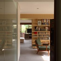 赤坂の家 書斎