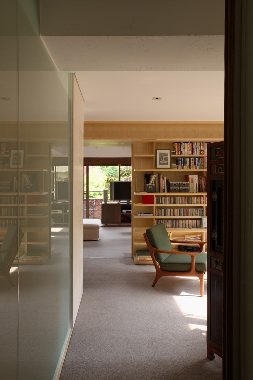 赤坂の家の部屋 赤坂の家 書斎