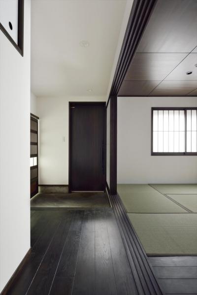 廊下 (白墨のいえ)