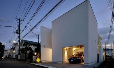 浜田山の家-ギャラリースタイルの家、ミニマリズムの調べ-