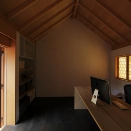 小金井の家 書斎