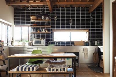 キッチン (『WRAP!!』 ― 家族が集うリビング)