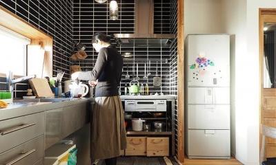 『WRAP!!』 ― 家族が集うリビング (キッチン)