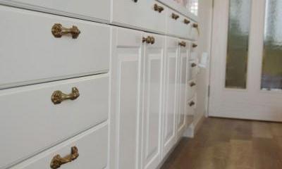 大容量の収納|理想のオープンキッチンへ、キッチンリフォーム