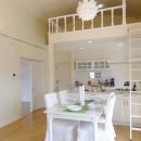 リノBe 【リノビー】の住宅事例「ヨーロピアンテイストのロフトハウスへ、リビングリノベーション」