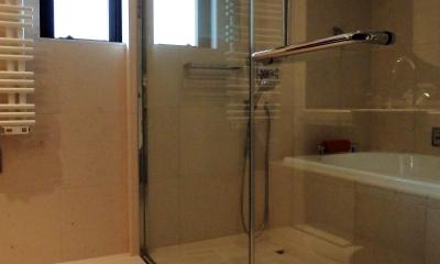ホテルライクに暮らすリノベーション (BATH ROOM)