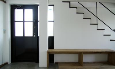 2階玄関1|寺町の家
