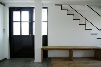 2階玄関1 (寺町の家)