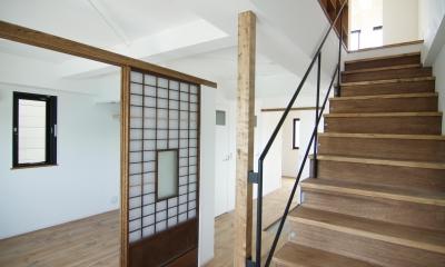 寺町の家 (2階ゲストルーム)