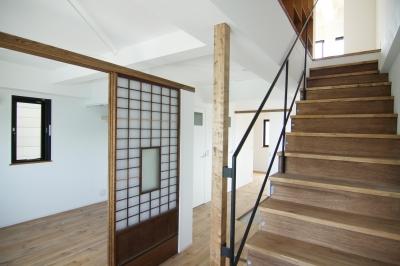 2階ゲストルーム (寺町の家)