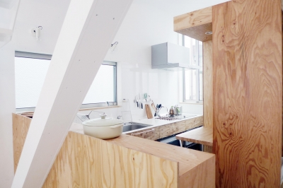 2階キッチン1 (10mの家)