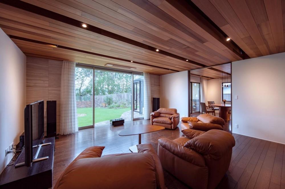 T11-houseリノベーション「木々の中にある家」 (インテリア)