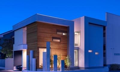 M10-house「オブジェのある家」