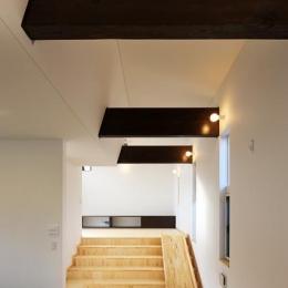 鶴岡の家 (すべり台のあるスキップフロア)