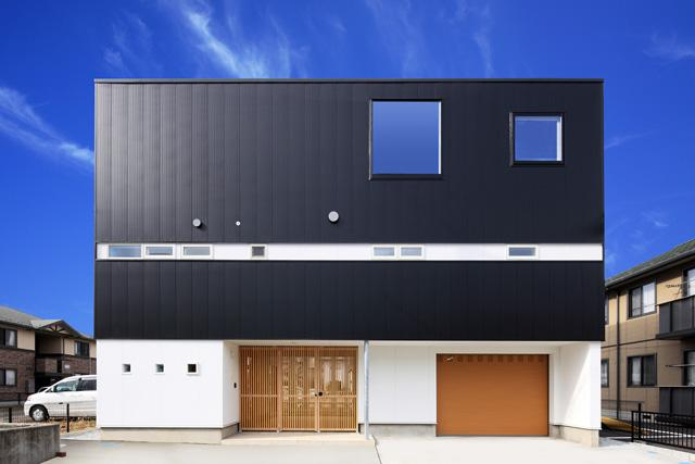 barleymow house (モダンな外観)